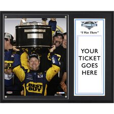 NASCAR 2012 Daytona 500 Champion Sublimated 'I WAS THERE' Memorabilia Plaque