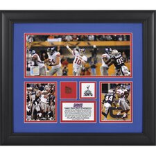 NFL New York Giants Super Bowl XLVI 3-Photo Collage Framed Memorabilia