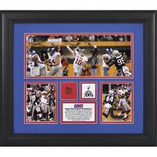 NFL New York Giants Super Bowl XLVI 3-Photo Collage Framed Memorabilia
