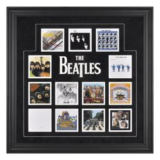 "<strong>Mounted Memories</strong> The Beatles ""U.K. Album Covers"" Framed Presentation - 26.5"" X 26.5"""