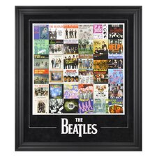 "The Beatles ""Singles Around The World"" Framed Presentation - 31"" X 27"""