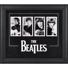 The Beatles 4 Photo Framed Memorabilia