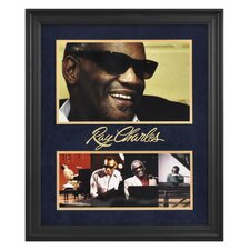"Ray Charles Limited Edition Framed Presentation - 24"" X 20"""