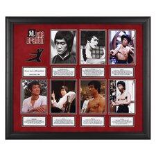Bruce Lee 'Affirmations' Limited Edition Framed Memorabilia