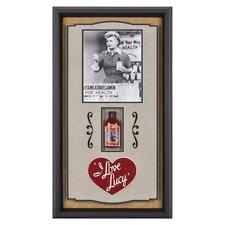 I Love Lucy 'Vitameatavegamin' Framed Memorabilia