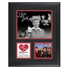 I Love Lucy '60th Anniversary' Framed Memorabilia