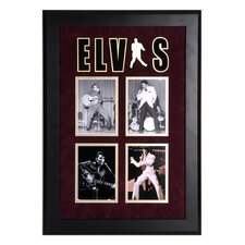 "Elvis Presley Framed Photo Presentation - 27"" X 19"""