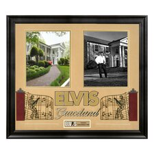 "Elvis Presley ""Graceland"" Framed Presentation - 23"" X 25"""