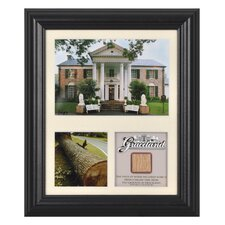 "<strong>Mounted Memories</strong> Elvis Presley ""Graceland"" Framed Presentation - 12"" X 10"""
