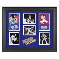 Elvis Presley 'Elvis On Tour' Limited Edition Framed Memorabilia