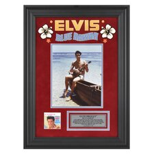 Elvis Presley 'Blue Hawaii' Framed Memorabilia