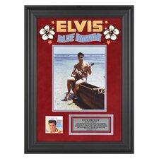 Elvis Presley 'Blue Hawaii' Framed Memorabilia