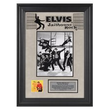 "Elvis Presley ""Jailhouse Rock"" II Framed Presentation - 23"" X 16"""