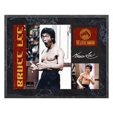 "<strong>Mounted Memories</strong> Bruce Lee ""The Little Dragon"" Plaque - 10.5"" X 13"""