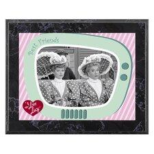 I Love Lucy 'A Wonderful Pair' Memorabilia Plaque