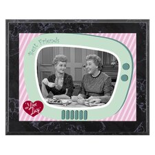 I Love Lucy 'Having Tea' Memorabilia Plaque