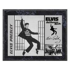Elvis Presley 'Jailhouse Rock' Memorabilia Plaque