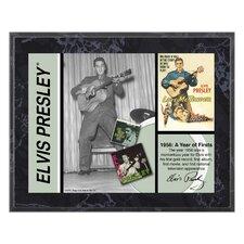 Elvis Presley '1956' Memorabilia Plaque