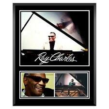 Ray Charles Memorabilia Plaque