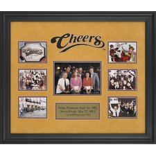 Cheers Limited Edition Framed Memorabilia
