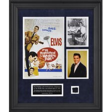 Elvis Presley 'It Happened At The World's Fair' Framed Memorabilia
