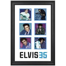 Elvis Presley 35th Anniversary Limited Edition Framed Memorabilia