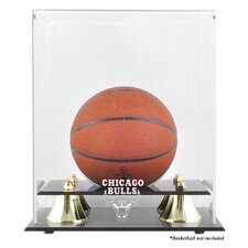 <strong>Mounted Memories</strong> NBA Golden Classic Logo Mini Basketball Display Case