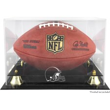 <strong>Mounted Memories</strong> NFL Classic Football Logo Display Case