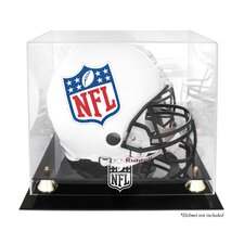 <strong>Mounted Memories</strong> NFL Classic Helmet Logo Display Case