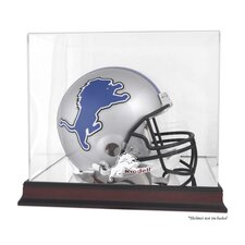 <strong>Mounted Memories</strong> NFL Helmet Logo Display Case