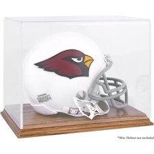 NFL Logo Mini Helmet Display Case