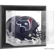 NFL Wall Mounted Helmet Logo Display Case
