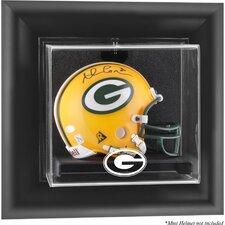 NFL Wall Mounted Mini Helmet Logo Display Case