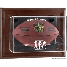 <strong>Mounted Memories</strong> NFL Wall Mounted Logo Football Case
