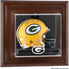 <strong>Mounted Memories</strong> NFL Wall Mounted Logo Mini Helmet Case