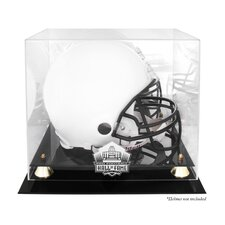 <strong>Mounted Memories</strong> NFL Pro Football Hall of Fame Logo Helmet Display Case