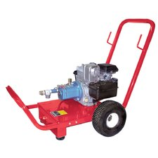 6.5 HP Gas Powered Triplex Plunger Hydrostatic Test Pump