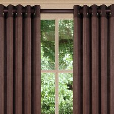Bamboo Grommet Top Curtain Single Panel