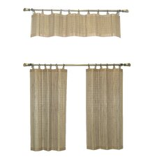 Bamboo Ring Top Window Treatment Collection