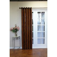 <strong>Versailles Home Fashions</strong> Bamboo Grommet Top Curtain Single Panel