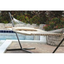 <strong>Smart Garden</strong> Monte Carlo Premium Poly Two Person Fabric Quilted Hammock