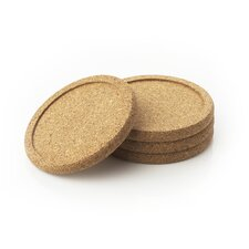 <strong>Natural Home</strong> Cork Coasters (Set of 4)