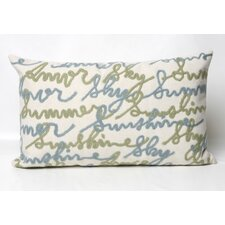 <strong>Liora Manne</strong> Amour Rectangle Indoor/Outdoor Pillow