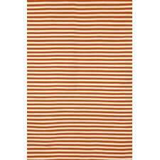 Sorrento Mini Stripe Paprika Rug