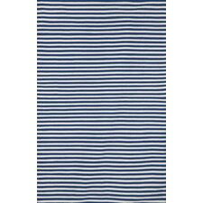 Sorrento Mini Stripe Navy Rug