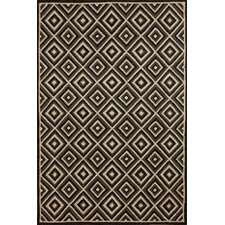 Carlton Charcoal Diamond Indoor/Outdoor Rug
