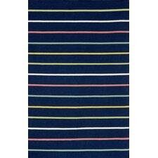 Sorrento Candy Stripe Navy Indoor/Outdoor Area Rug
