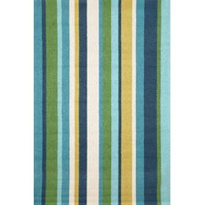Newport Seaside Vertical Stripe Indoor/Outdoor Rug