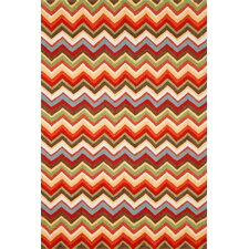 Ravella Sunshine Zigzag Outdoor Area Rug