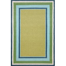 Newport Seaside Multi Border Rug